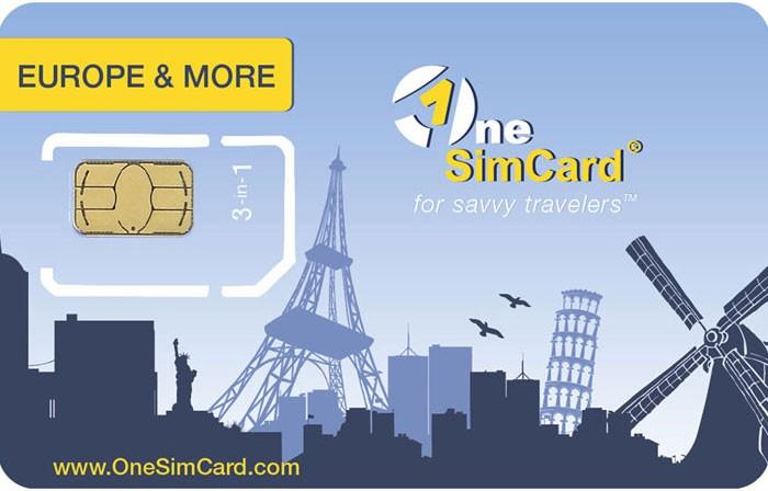 سیم کارت بین المللی one sim card