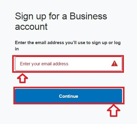 signup-business-acount